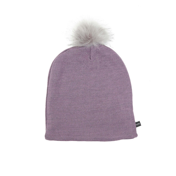 Wool Beanie with Pompom 609055-33 AW19