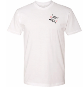 """THE WARRIOR PATH"" TSW WHITE T-SHIRT"
