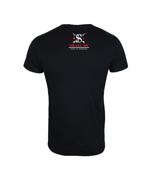 """EL SERPIENTE"" TSW BLACK T-SHIRT"