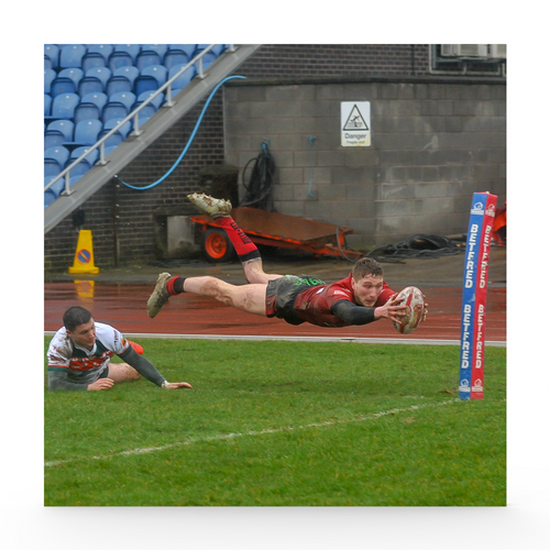 Hunslet CC (A) Ethan Ryan Try