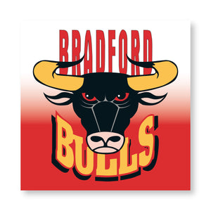 Bulls Logo Canvas