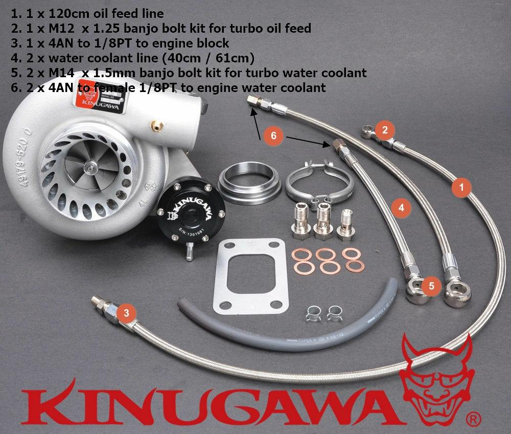 Kinugawa Turbo Systems GR GQ Turbo intall kit
