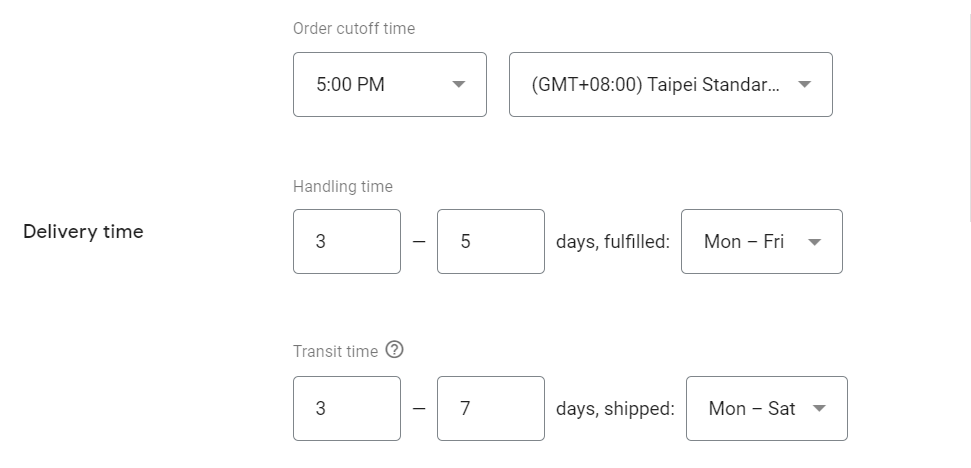 kinugawa turbo systems shipping schedule and delivery time