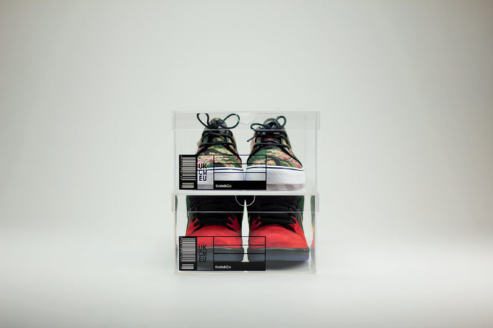 The OG Krate - Clear Sneaker Shoe Boxes - 2 pack