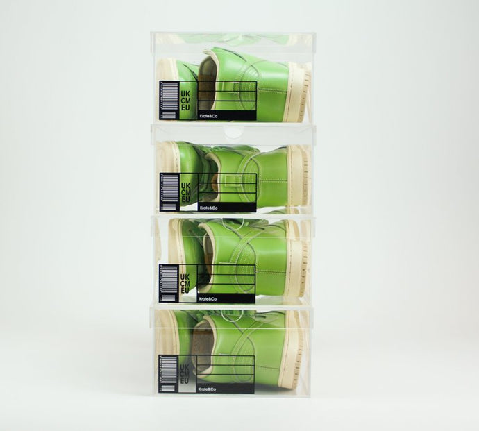 The OG Krate - Clear Sneaker Shoe Boxes - 4 pack
