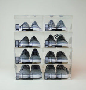 The OG Krate - Clear Sneaker Shoe Boxes - 8 pack