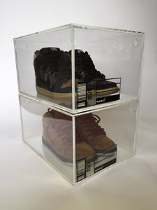 The Trophy Box - Basketball Sneaker Storage Box - 2 Pack