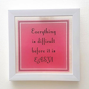 Everything is Easy! | Floating Frame