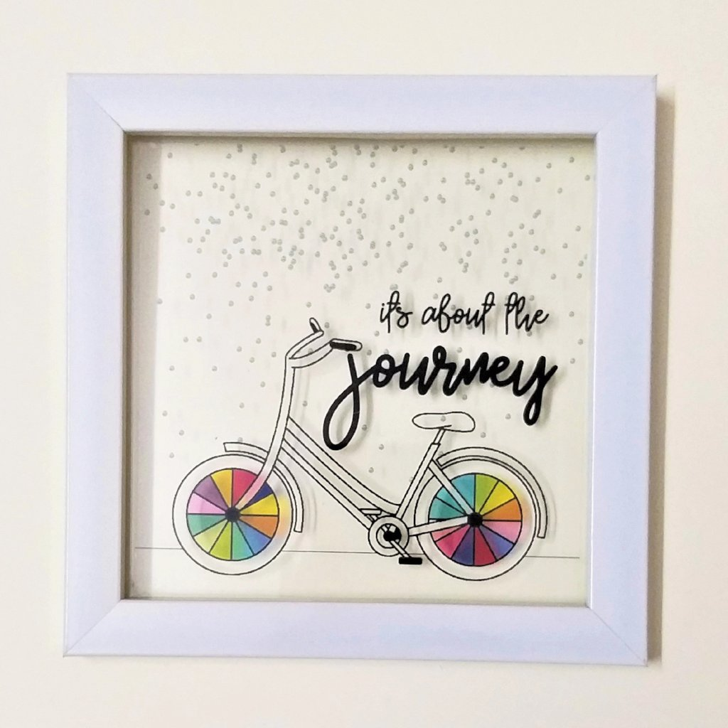 Journeys Matter :) | Floating Frame