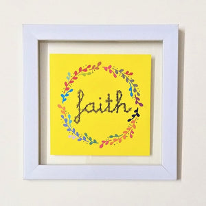 Faith (Yellow)! Frame