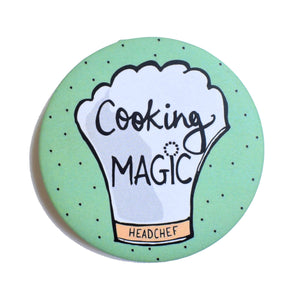 Cooking MAGIC! | Badge+Magnet