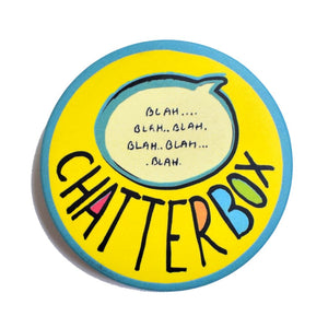 CHATTERBOX - Colourful! | Badge+Magnet
