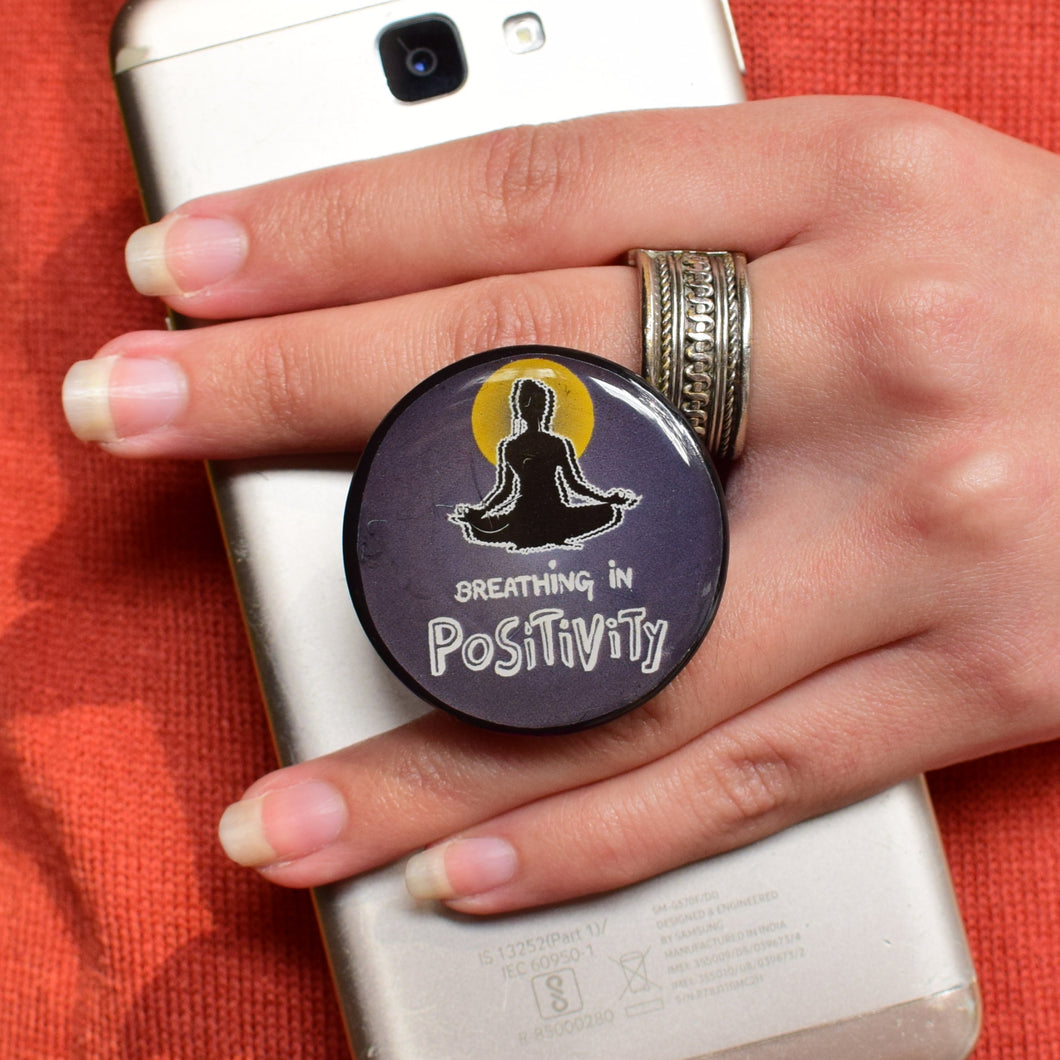 Breathing in POSITIVITY | Pop Holder