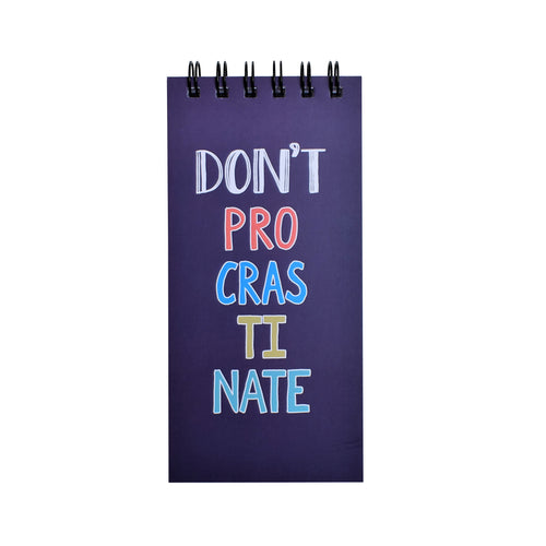 Don't Procrastinate | DAILY PLANNER