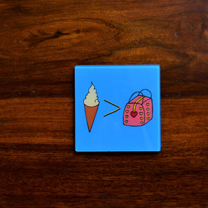 Icecream > Bags! | Coaster