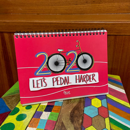 LET'S PEDAL HARDER! | 2020 Table Calendar