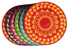 The Colourful Warli | Coaster - Set of 6