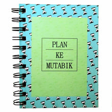 Plan Ke Mutabik (Hourglass) | Pocket Notebook