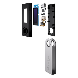 Ledger Nano S | Cryptocurrency Hardware Wallet | Legal USA Retailer