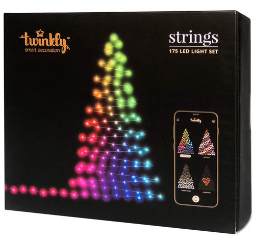 Twinkly 175 Mini LED Christmas Lights | Customizable | App Controlled | WiFi Enabled