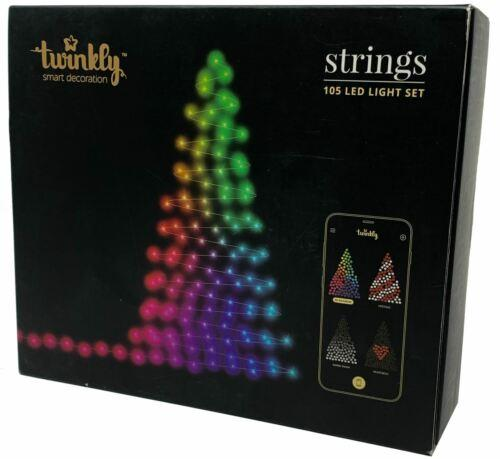 Twinkly 105 LED String Lights | Customizable | App Controlled | WiFi Enabled