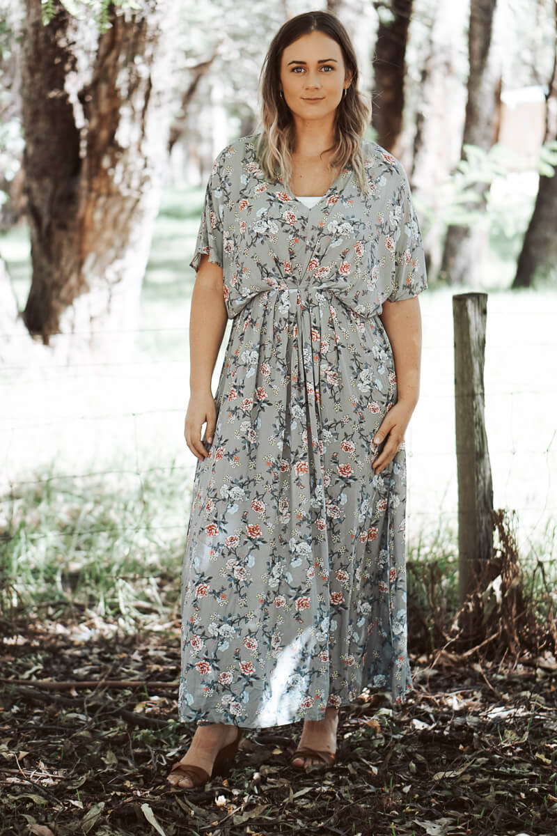 Daphney Maxi Dress - Sage