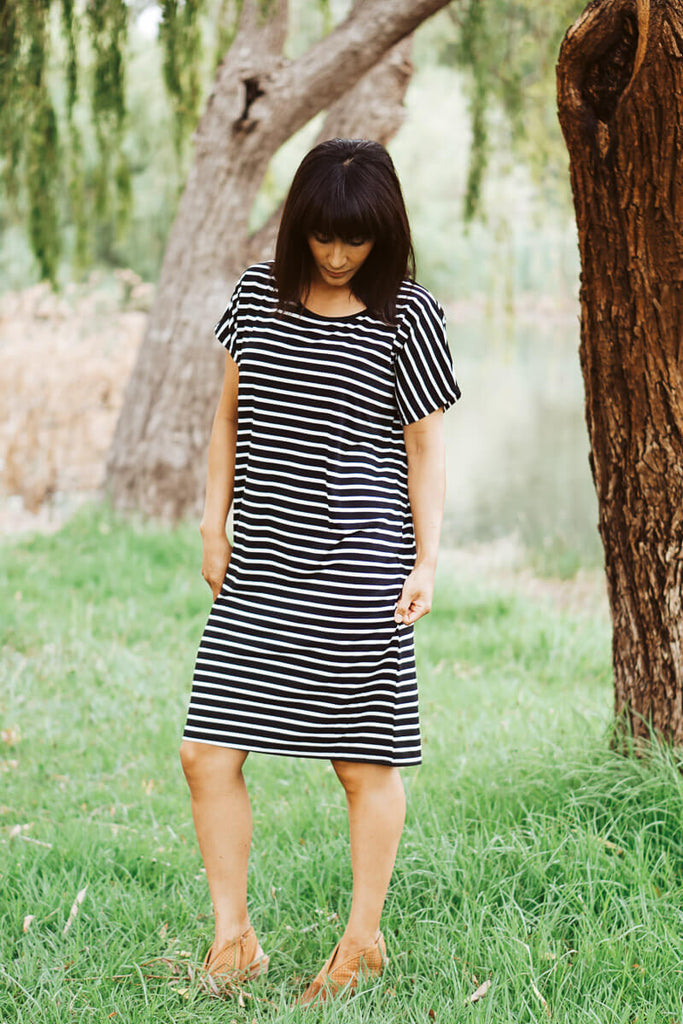 Cody Striped Dress