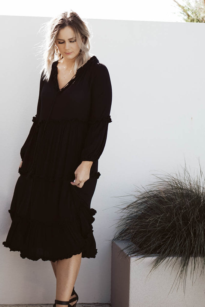 Leila Dress - Black