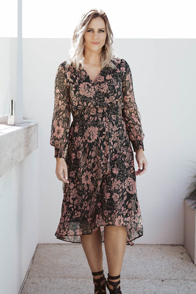 Amber Pink Floral