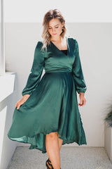 Ivy Midi Dress - Emerald