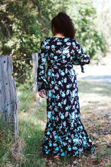 Haven Flutter Wrap Maxi Dress