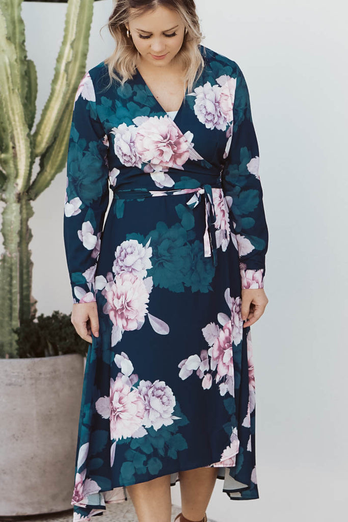 Althea Wrap Dress