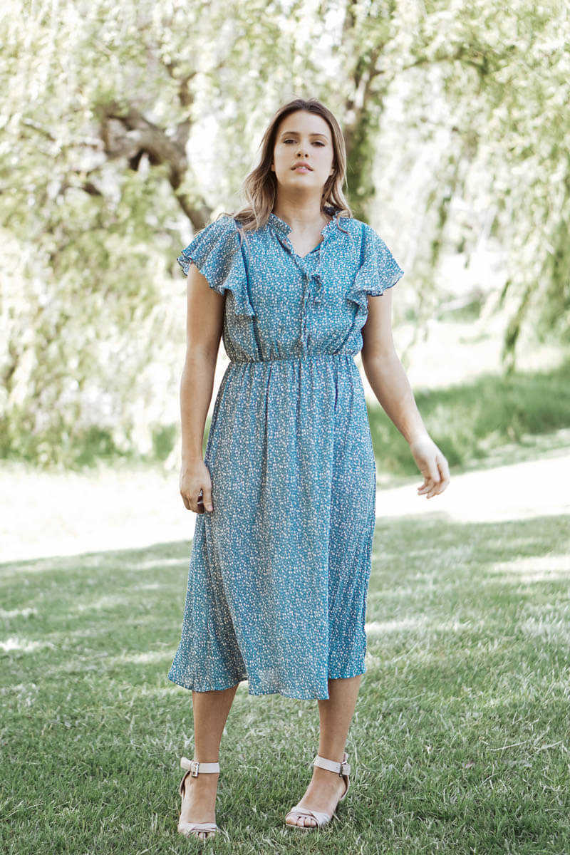 Prairie Dress - Blue
