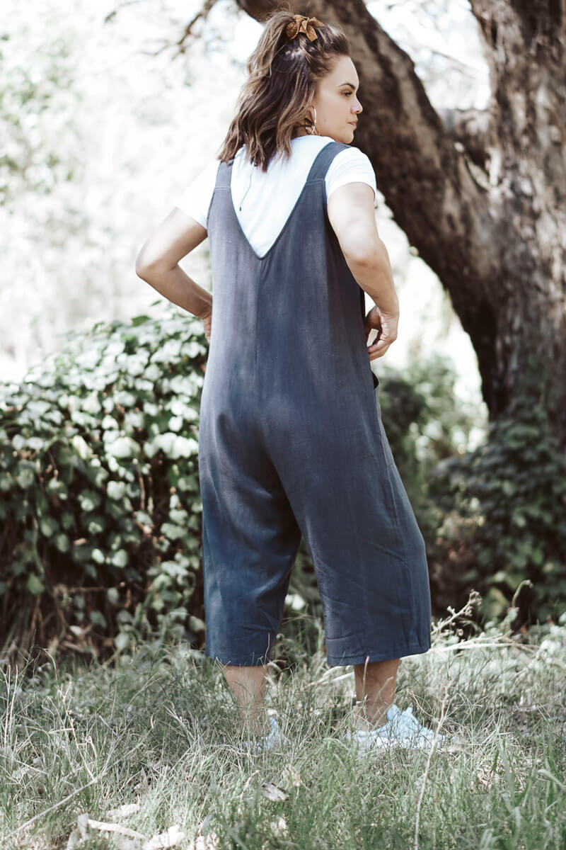 Trixie Overalls - Grey