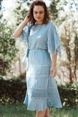 Manhattan Classic Dress - Blue
