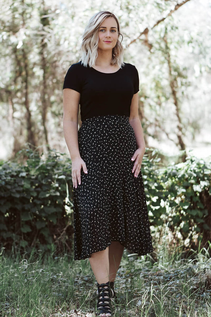 Evie Classic Skirt - Forest Green