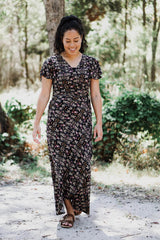 Laken Maxi Wrap Dress