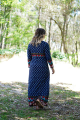 Seraphina Maxi Wrap Dress