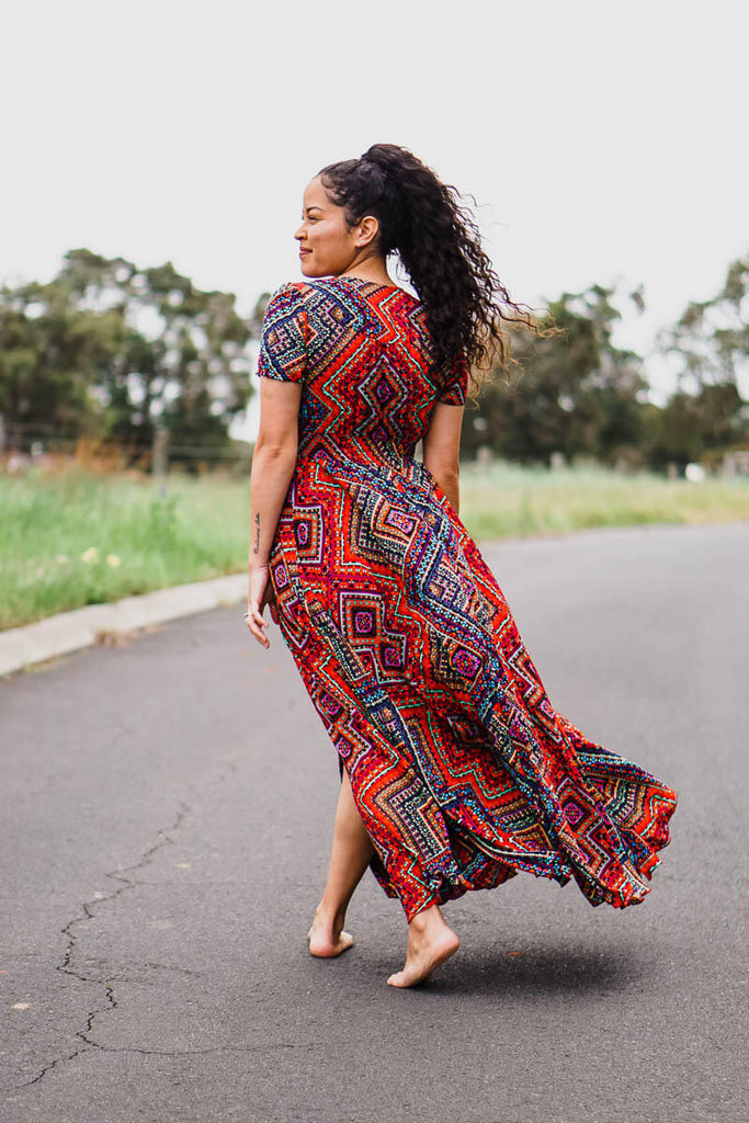 Leilani Flow Maxi - Colourful Dream