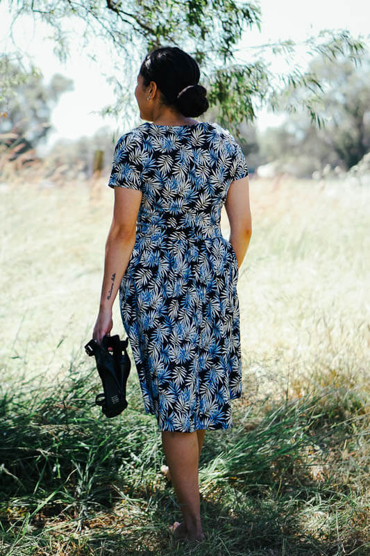 Audrey Dress - Ferns