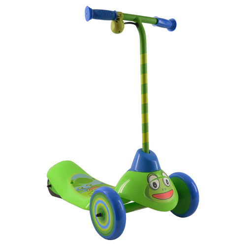 Safe Start 3-Wheel Electric Scooter, Frog
