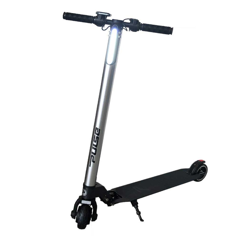 HUB-250 Electric Scooter, Silver
