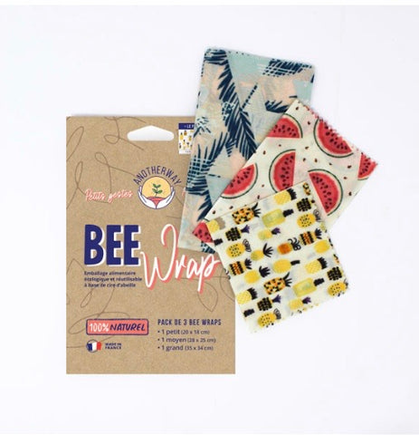 Bee wrap, emballage alimentaire