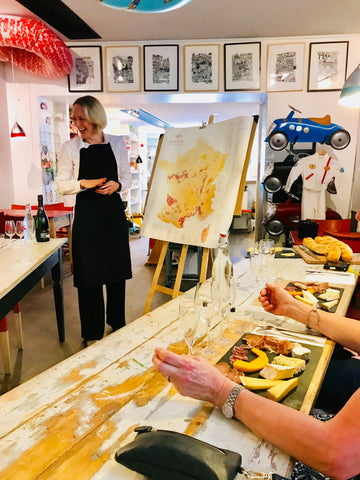 Cuisine Esprit Atelier wine & cheese presented in english – esprit d'atelier