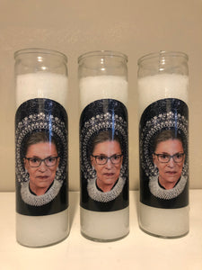 Ruth Bader Ginsburg Eternity Candle