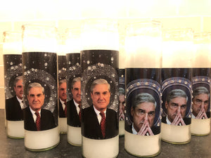 Robert Mueller 5 Day Devotional Candle with Rhinestones