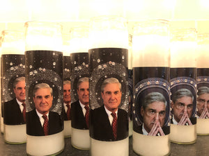 Robert Mueller Devotional prayer candles.  Free shipping.