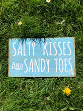 Salty Kisses & Sandy Toes Chic Sign