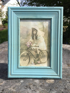 Delilah Photo Frame -Aqua Green