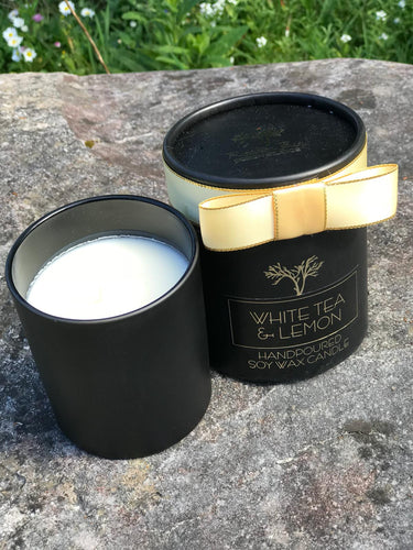 Audrey Collection White Tea & Lemon Candle